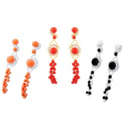 Coral Set 5 Earrings