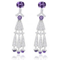 Amethyst Set 2 Earrings