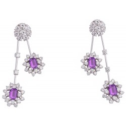 Amethyst Set 6 Earrings (Exc. to Prec.)