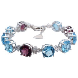 Aquamarine Set 7 Bracelet