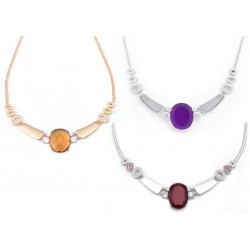 Citrin Set 4 Necklace