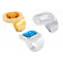 Diamond Set 1 Ring
