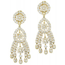 DIAMOND SET 14 EARRINGS (EXC. TO PREC.)