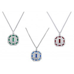 Emerald Set 5 Necklace
