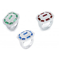 Emerald Set 5 Ring
