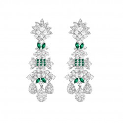 EMERALD SET 8 EARRINGS (EXCLUSIVE TO PRECIOUS)
