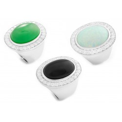 Jade Set 4 Ring