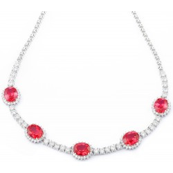 Ruby Set 4 Necklace