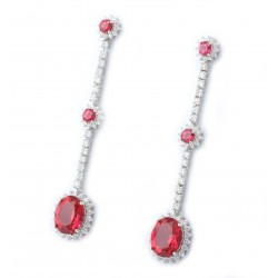 Ruby Set 4 Earring