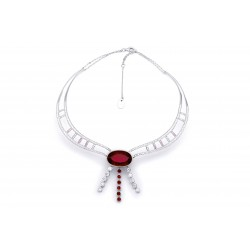 Ruby Set 7 Necklace