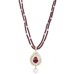 Ruby Set 8 Necklace (Exc. to Precious)