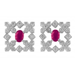 Ruby Set 9 Earrings (Exclusive to Precious)