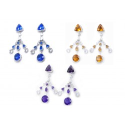 Sapphire Set 3 Earrings