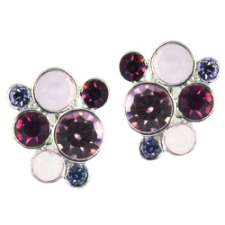 Sapphire Set 4 Earrings (Sterling silver)