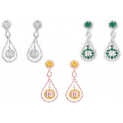 Diamond Set 4 Earrings