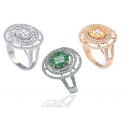 Diamond Set 4 Ring