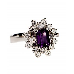 Amethyst Set 6 Ring (Exc. to Prec.)