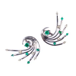 Emerald Set 3 Earrings (Exclusive to Precious)
