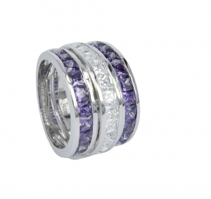 Amethyst Set 4 Ring