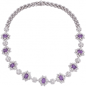 Amethyst Set 6 Necklace (Exc. to Prec.)