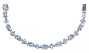 Aquamarine Set 4 Bracelet (Exclusive to Precious)