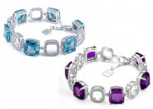 Aquamarine Set 6 Bracelet