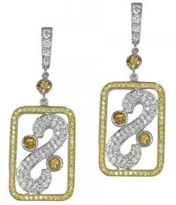 Citrin Set 2 Earrings