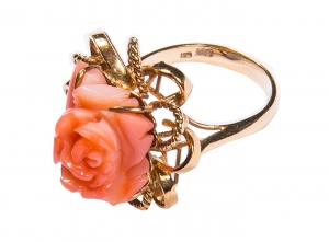 Coral Set 7 Ring (Exclusive to Precious)