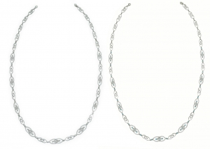 Diamond Set 8 Necklace