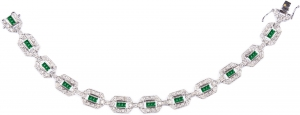 Emerald Set 3 Bracelet (Exclusive to Precious)