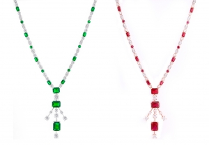 Emerald Set 6 Necklace