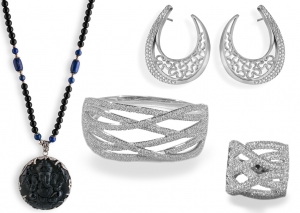 ONYX SET 7 (sterling silver)
