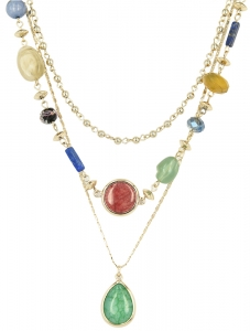 Opal Set 3 Necklace (Sterling silver)