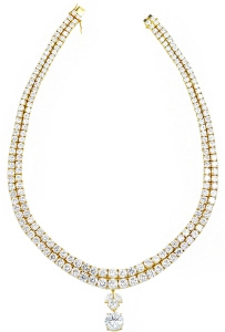 DIAMOND SET 13 NECKLACE (EXC. TO PREC.)