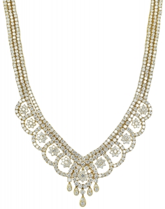 DIAMOND SET 14 necklace (EXC. TO PREC.)