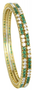 Emerald Set 7 Bracelet (EXC. TO PREC.)