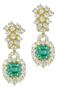 Emerald Set 7 Earrings (EXC. TO PREC.)
