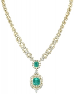 Emerald Set 7 Necklace (EXC. TO PREC.)
