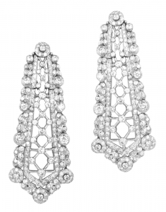 Diamond Set 17 Earrings (Exc. to Precious)