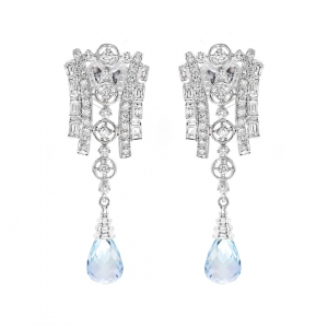 AQUAMARINE SET 8 EARRINGS (EXCLUSIVE TO PRECIOUS)