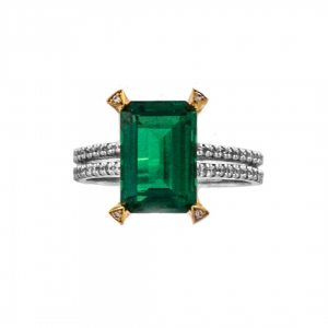 EMERALD SET 8 RING (EXCLUSIVE TO PRECIOUS)